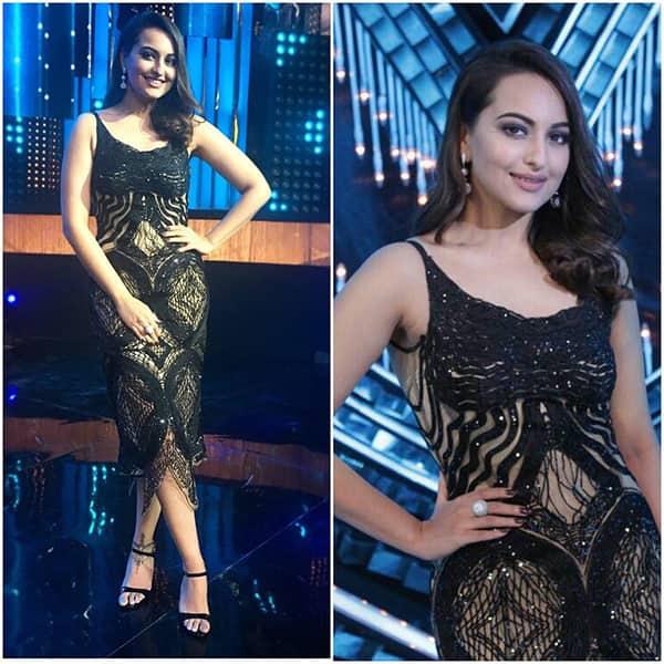 Sonakshi Sinha goes bold in black