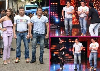 Salman Khan and Sonakshi Sinha's Dabangg reunion on Nach Baliye 8 - View HQ pics