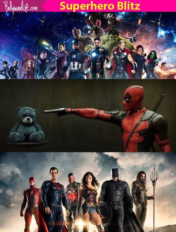 Justice League, Avengers: Infinity War, Deadpool 2 - 20