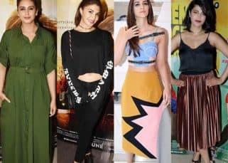 Worst Dressed This Week: Shruti Haasan, Kriti Sanon, Huma Qureshi and Jacqueline Fernandez toe the fashion line and miss the mark