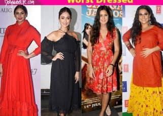 Worst dressed this week: Katrina Kaif, Vidya Balan, Esha Gupta, Ileana D'Cruz, Huma Qureshi's looks are major mood dampeners this monsoon