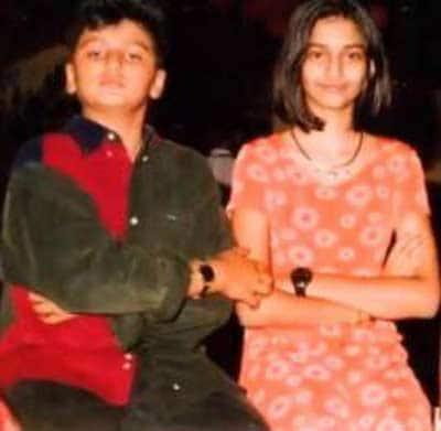 arjun-kapoor-with-cousin-sonam-kapoor-childhood-pics