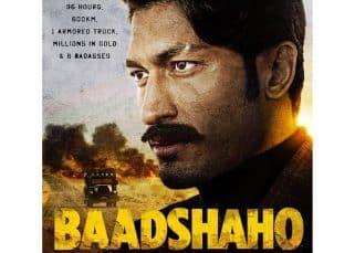 Baadshaho poster: Vidyut Jammwal's look is both intriguing and intense