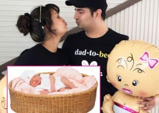 Karan Mehra and Nisha Rawal share an adorable picture of their baby boy on Instagram - view pic