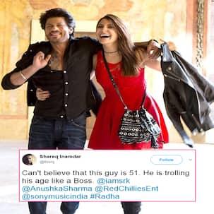 Twitter is drooling over Shah Rukh Khan's age-defying HOTNESS in Jab Harry Met Sejal song Radha - Read Tweets