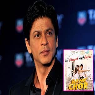 Riteish Deshmukh spoofs Jab Harry Met Sejal poster into Bank Chor leaving Shah Rukh Khan unhappy - check out his response