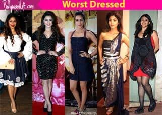 Shilpa Shetty, Kriti Sanon, Ekta Kapoor, Urvashi Rautela and Tanishaa Mukerji show us what exactly is fashion faux pas
