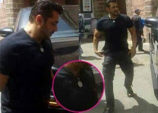 Will Salman Khan wear his lucky locket in Tiger Zinda Hai? These pics from the sets suggest so...
