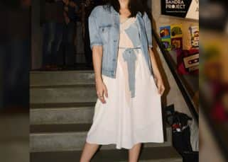 Fashion pick of the day: Alia Bhatt shows how to layer your dress with a denim jacket and look chic in monsoons – View Pics