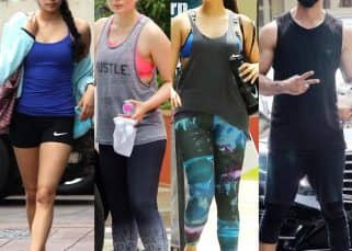 Celeb gym style this week: Shahid Kapoor, Mira Rajput, Kareena Kapoor and Jhanvi Kapoor rock some chic workout gear!