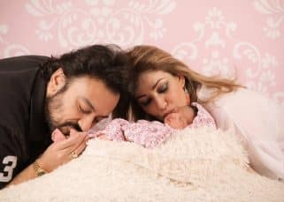 Adnan Sami shares daughter Medina's first pictures and boy does she look angelic! View pics