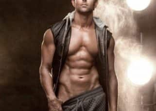Oh nothing much! Hrithik Roshan tries to bare more than just his torso and makes our Monday hot!