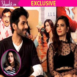 Guest Iin London actors Kartik Aaryan and Kriti Kharbanda want to gatecrash Deepika Padukone and Saif Ali Khan's party - watch video