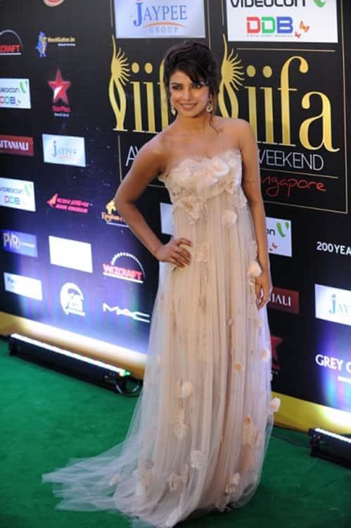 Priyanka Chopra in a Dolce and Gabbana gown at IIFA 2012