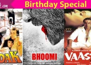 Sadak, Agneepath, Khalnayak - 5 iconic posters of Sanjay Dutt's classic films