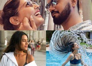 Hina Khan-Rocky Jaiswal's romantic holiday, Shivangi Joshi's HOT swim suit photoshoot - TV Insta this week
