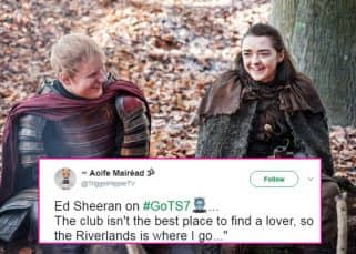 Game of Thrones season 7's first episode is out and Twitter is tripping on Arya Stark and Ed Sheeran