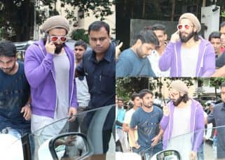 [Photos] Dummies guide on how NOT to ask for a selfie with Ranveer Singh