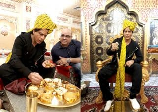 Shah Rukh Khan's Jab Harry Met Sejal promotional tour takes a ROYAL twist in Rajasthan - view pics