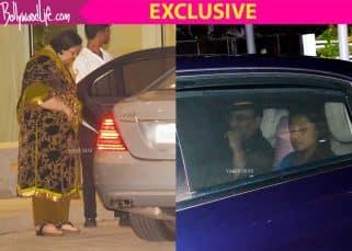 Rani Mukerji goes on a dinner date with hubby Aditya Chopra and mom-in-law Pamela Chopra - view HQ pics
