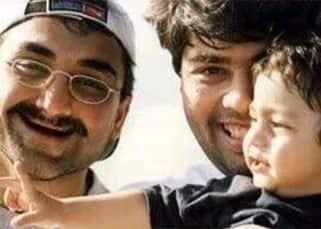Can you guess the star kid Karan Johar and Aditya Chopra are so happy to be clicked with? Hint: Shah Rukh Khan