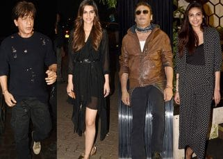 Athiya Shetty, Kriti Sanon, Shah Rukh Khan dressed to kill at this birthday bash but it was Jackie Shroff who won over us with his unmatched swag - View Pics