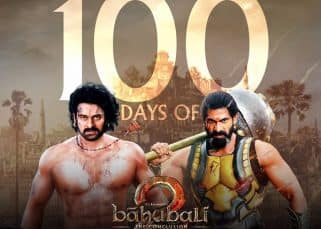Prabhas and Rana Daggubati's Baahubali 2 achieves new milestone; completes 100 days at the box office