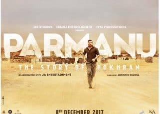 Parmanu first look: John Abraham goes for a jog before prepping up for the Pokhran nuclear tests