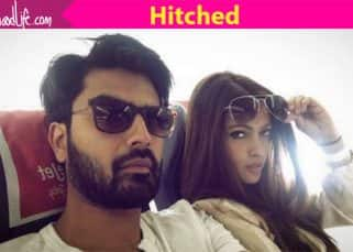 Riya Sen and Shivam Tewari get married in a hush-hush ceremony in Pune