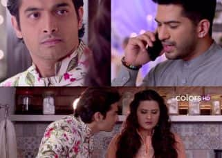 Kasam-Tere Pyar Ki 19th October 2017 Written Update Of Full Episode: Rishi manages to steal some time Tanuja in her own house
