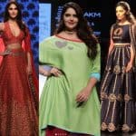 Lakme Fashion Week 2017 Day 4: Dhai Kilo Prem's Anjali Anand steals the show on the ramp from Saiyami Kher and Vaani Kapoor