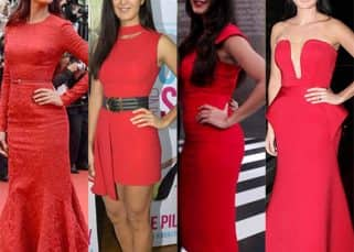 Katrina Kaif is the resplendent Lady In Red and here are her top 7 RED-iant moments!