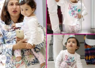 [Photos] Shahid Kapoor's baby Misha is busy shopping with her granny but don't forget to check out what's written on her tee