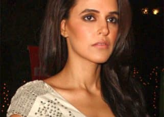 Neha Dhupia meets with an accident but onlookers rush for a selfie instead of helping her