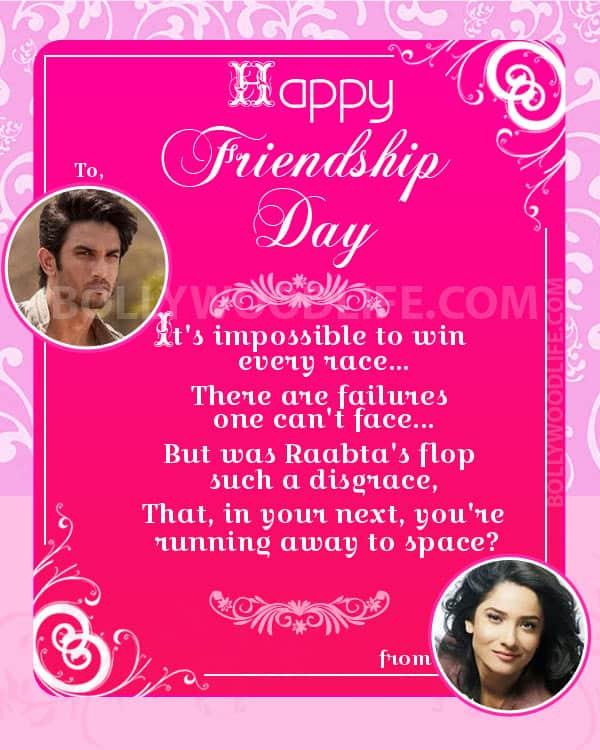 Sushant-Ankita-Friendship-Day-Greeting