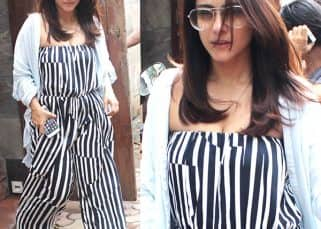 Kajol nails the fashion game in monochromatic stripes yet again - view pics