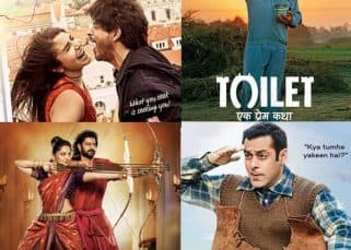 Toilet Ek Prem Katha, Tubelight, Jab Harry Met Sejal, Baahubali 2 - Check out the top 10 highest grossers of 2017