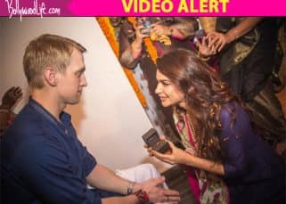 Aashka Goradia proposing to Brent Goble by going down on her knees is what LOVE is all about!
