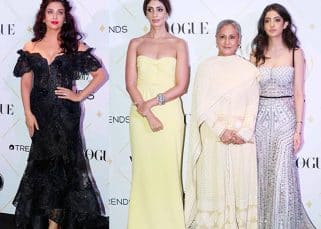 Here's why Aishwarya Rai Bachchan didn't pose with Jaya Bachchan, Navya Naveli and Shweta Nanda at the Vogue Beauty Awards 2017