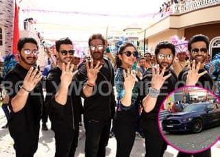 Rohit Shetty's swanky new car to make its debut in Golmaal Again? View EXCLUSIVE pics!