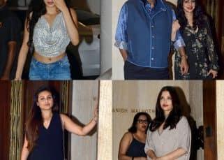 Jhanvi Kapoor, Khushi Kapoor get together with Rani Mukerji, Aishwarya Rai Bachchan to celebrate mom Sridevi's birthday - view pics