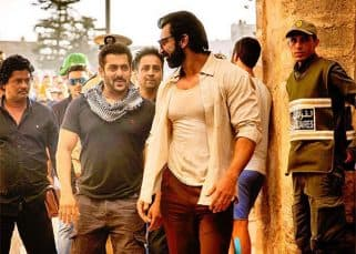 Salman Khan snapped on the sets of Tiger Zinda Hai sporting an infectious smile - view pic