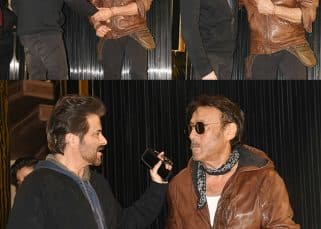 Ram Lakhan REUNITE! These pictures of Anil Kapoor and Jackie Shroff catching up at a party will make you nostalgic