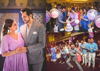 How sweet! Sister Ahana throws a secret baby shower for mommy-to-be Esha Deol- View HQ pics