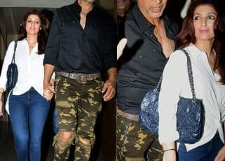 Akshay Kumar and Twinkle Khanna step out for a movie date - view HQ pics