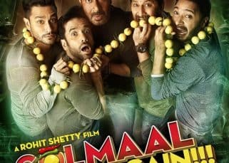 Golmaal Again new poster: So what's scaring Ajay Devgn and his band of boys?