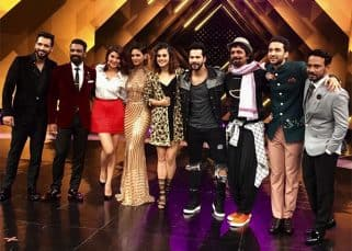 Sunil Grover joins Varun Dhawan, Jacqueline Fernandez and Taapsee Pannu on the sets of Remo D'Souza's Dance Plus 3
