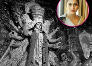 Kajol is wondering aloud how Durga Maa will look like this year - view pic