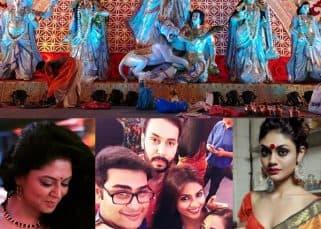 Durga Puja 2017: Kavita Kaushik, Devoleena Bhattacharjee, Sayantani Ghosh soak in the puja spirit