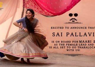 Sai Pallavi to star opposite Dhanush in Maari 2!